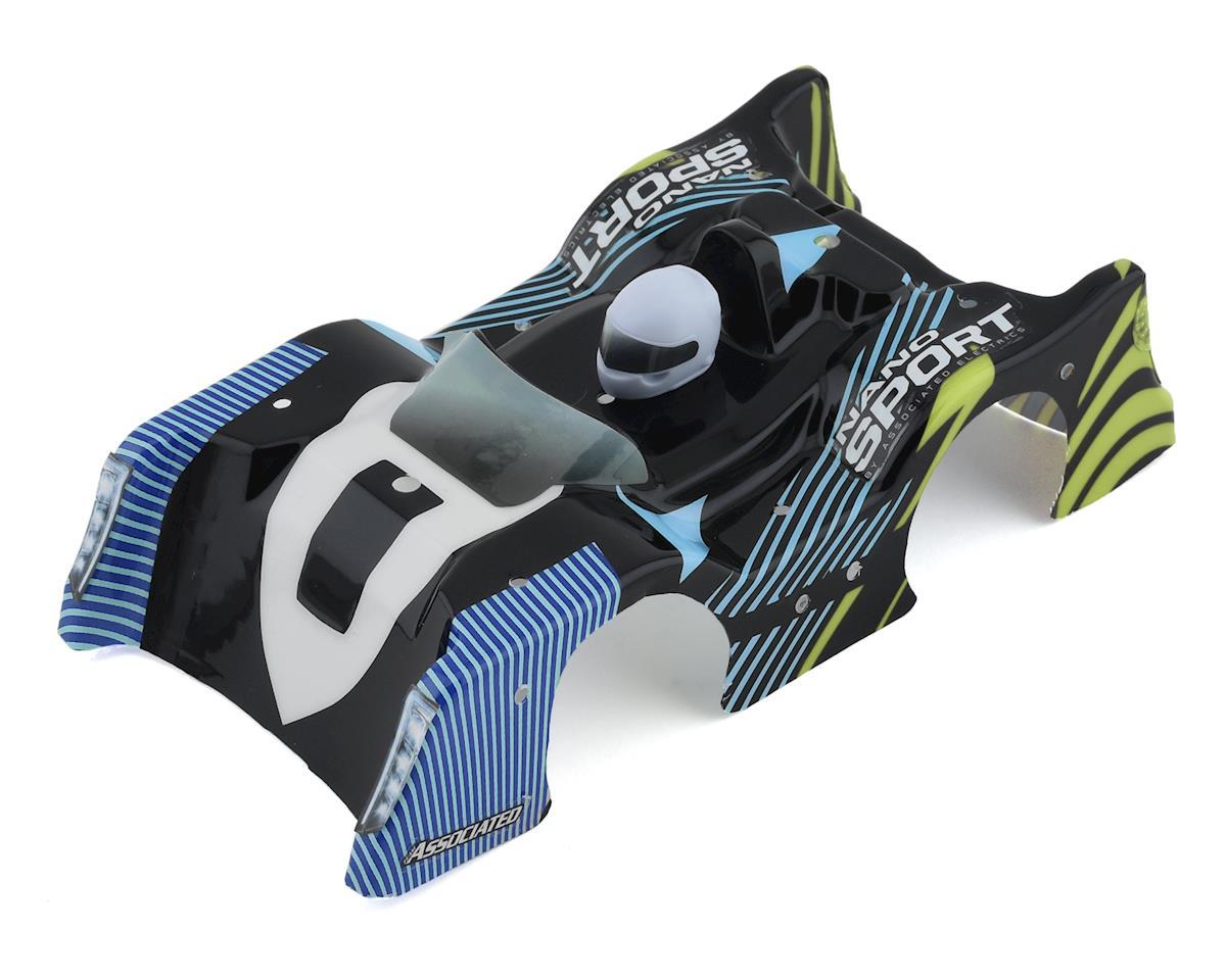Team Associated NanoSport Body (Blue/Black)