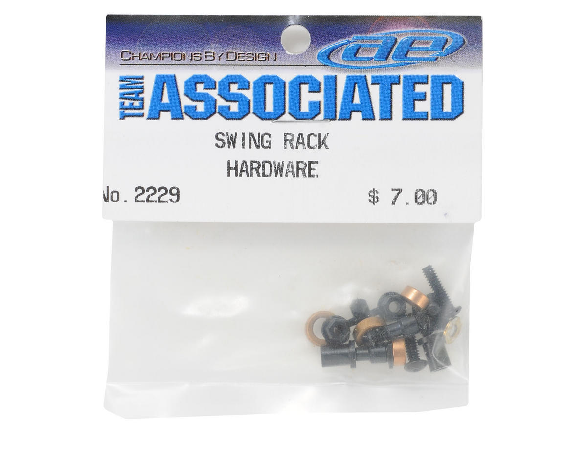 Team Associated Swing Rack Hardware