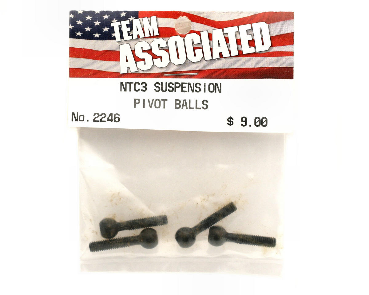 Team Associated Suspension Pivot Balls (Nitro TC3)