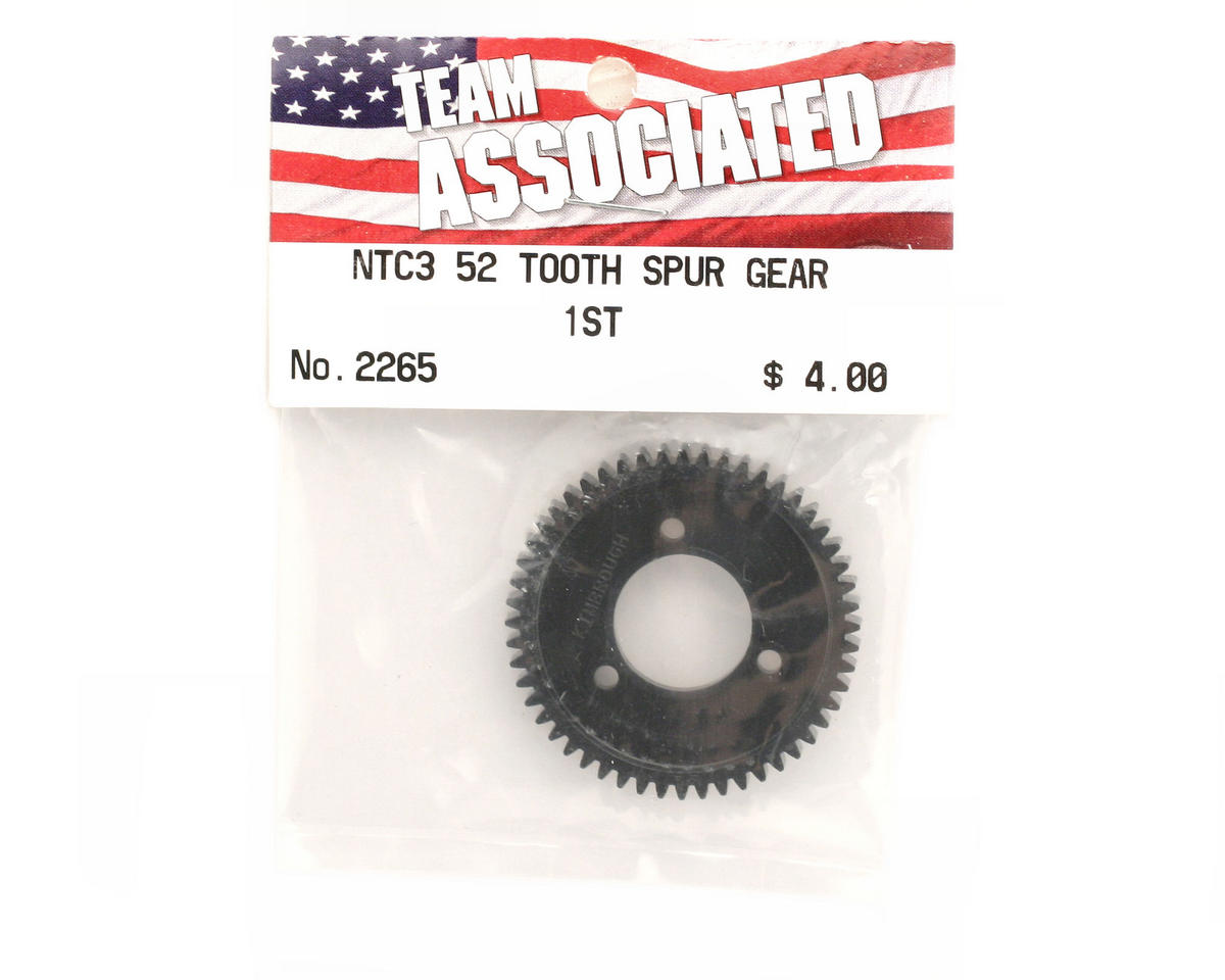 Team Associated 52T Spur Gear 1st Set (Nitro TC3)