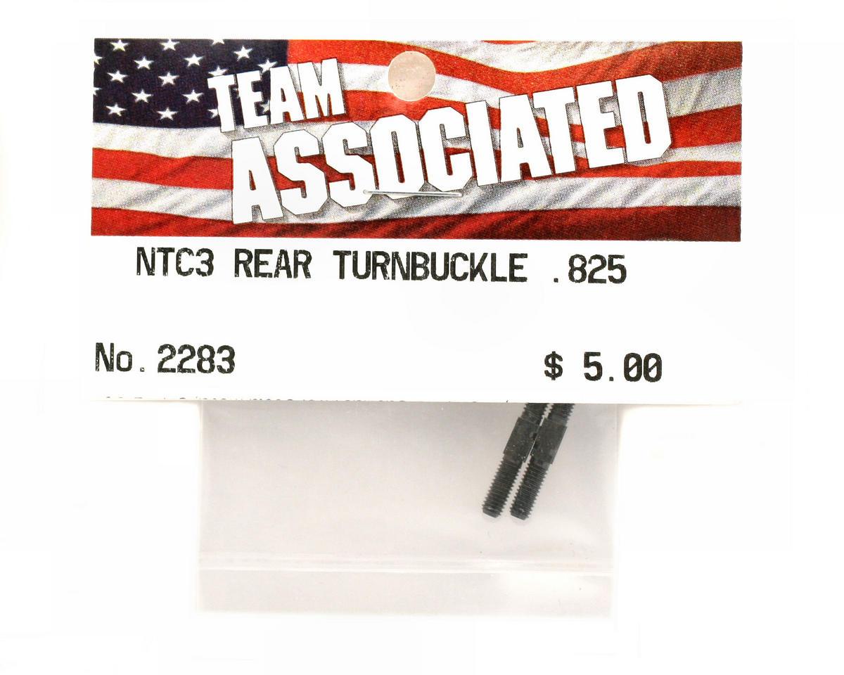 Rear Turnbuckle .825 (Nitro TC3) by Team Associated