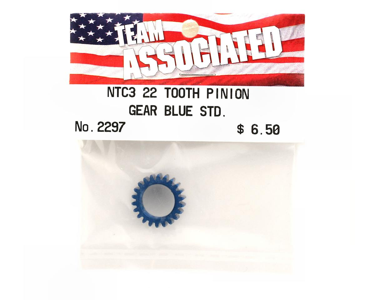 Team Associated Pinion Gear 22T Blue (Nitro TC3)