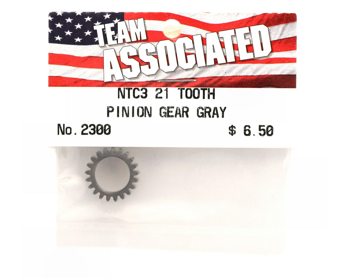 Team Associated Pinion Gear 21T Gray (Nitro TC3)