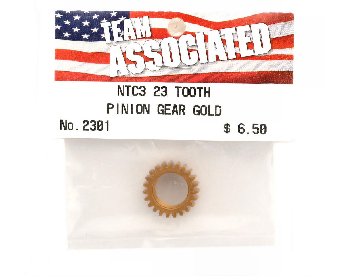 Team Associated Pinion Gear 23T Gold (Nitro TC3)