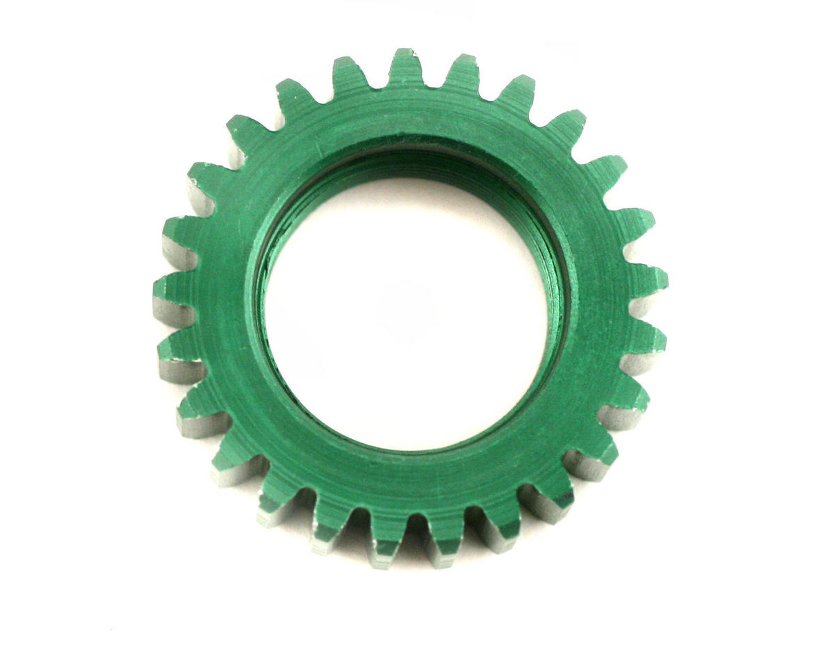 Team Associated Pinion Gear 25T Green (Nitro TC3)