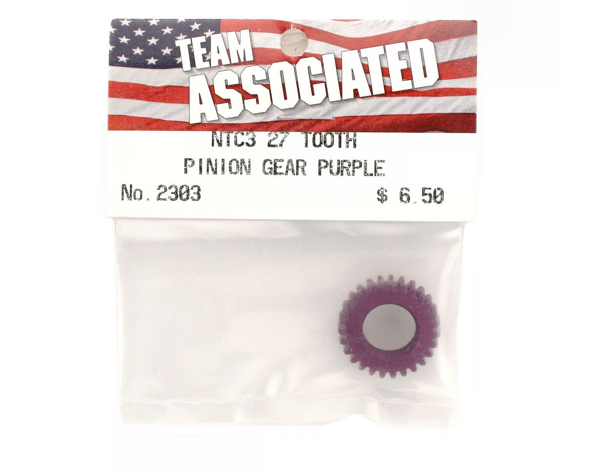 Pinion Gear 27T Purple (Nitro TC3) by Team Associated