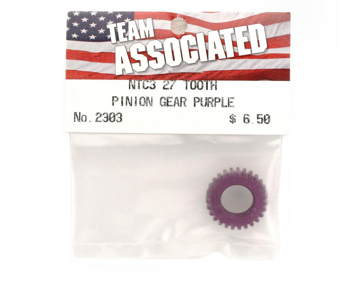 Team Associated Pinion Gear 27T Purple (Nitro TC3)