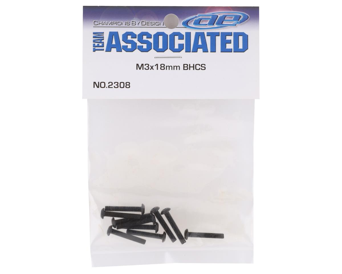 Team Associated M3x18mm Button Head Cap Screw