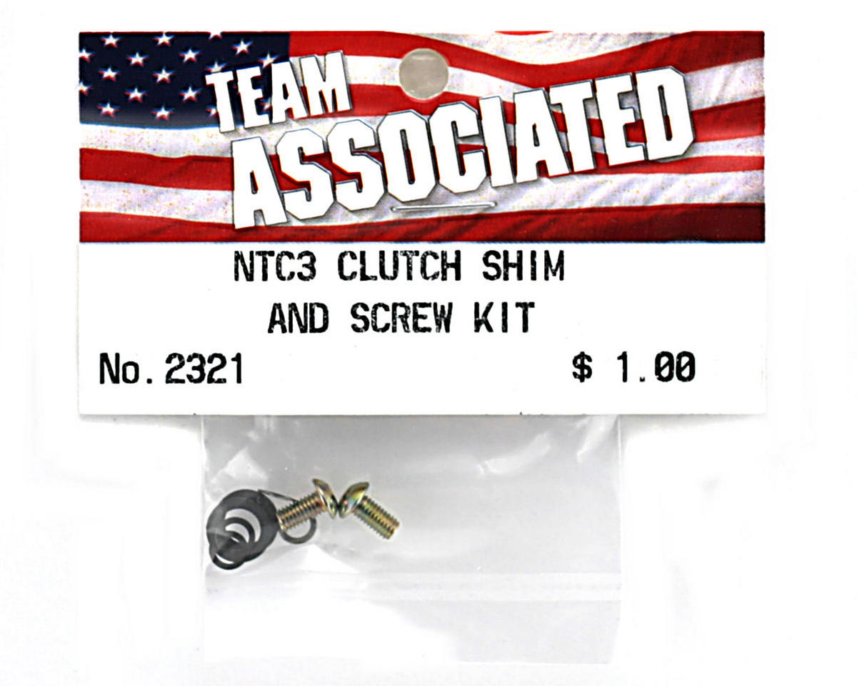 Team Associated Clutch Shim and Screw Kit (GT2)