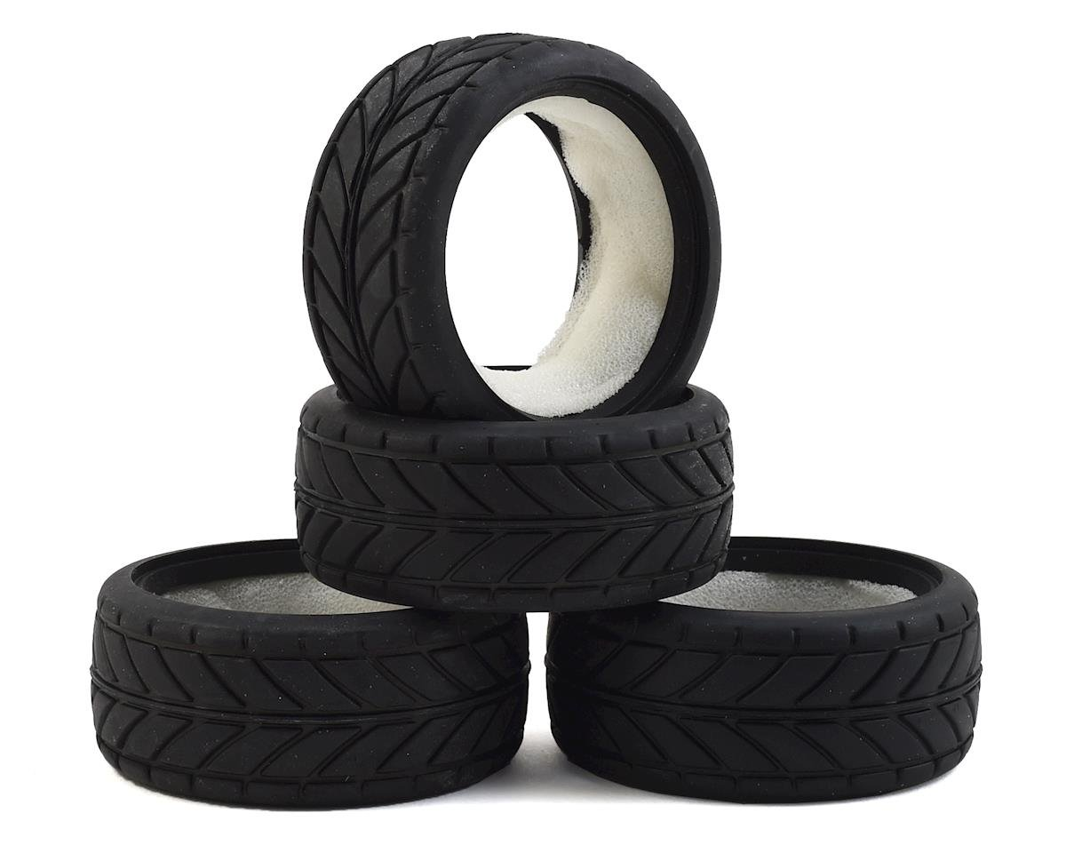 1/10 Treaded Touring Car Tires (4) by Team Associated