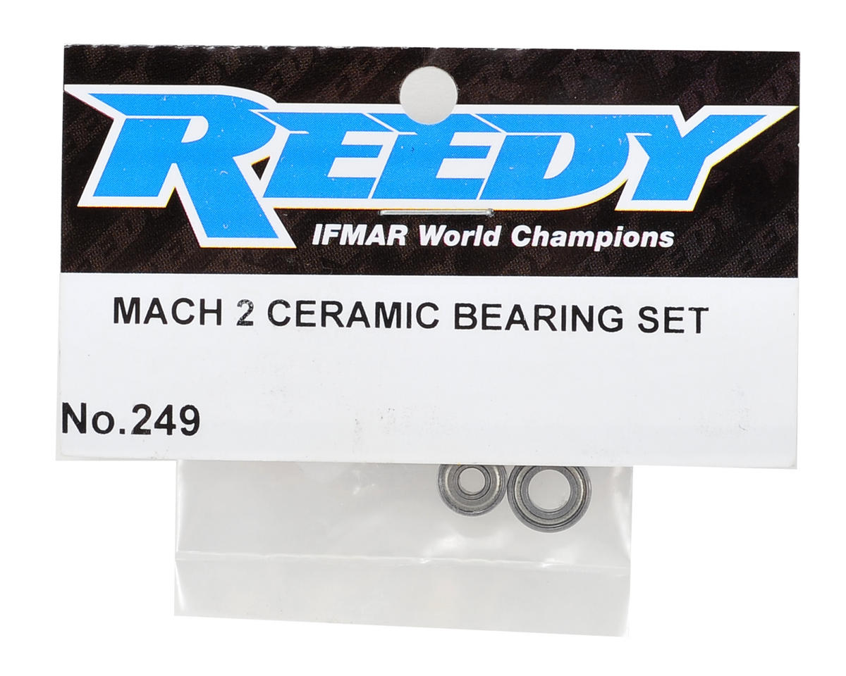 Reedy Sonic Mach 2 Ceramic Bearing Set