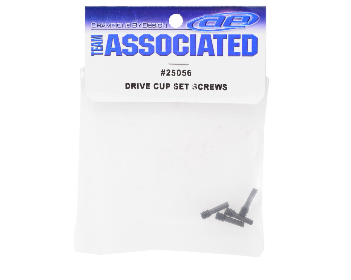 Team Associated Drive Cup Set Screw (4)
