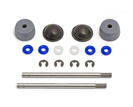 Team Associated Shock Rebuild Kit w/Shafts (2)
