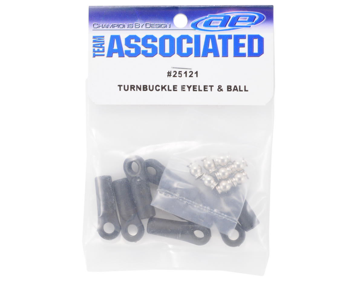 Team Associated Turnbuckle Eyelet & Ball Set (8)
