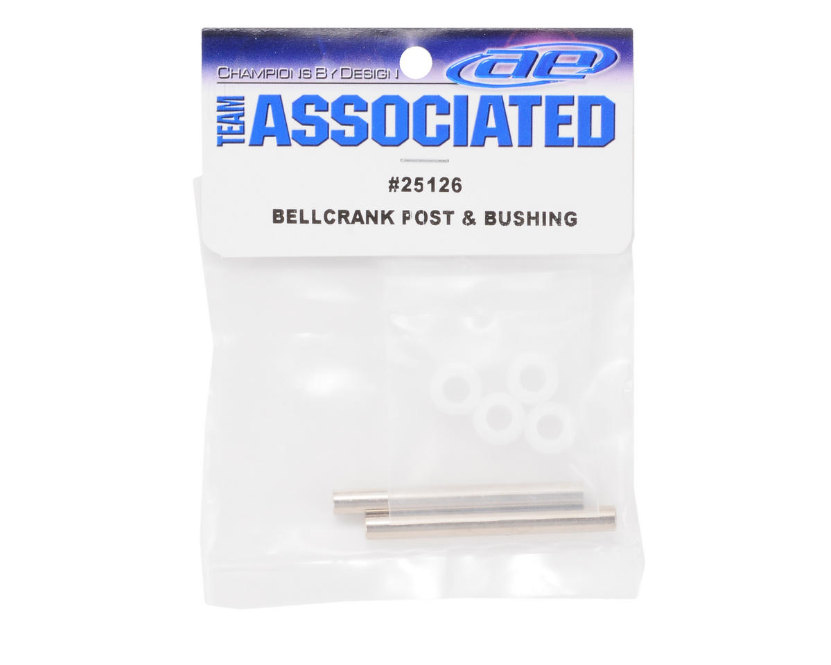 Team Associated Bellcrank Post & Bushing Set
