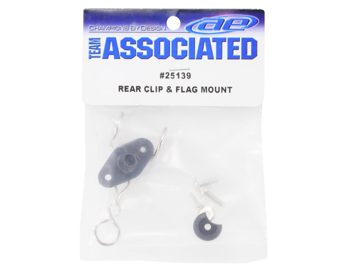 Team Associated Rear Clip & Flag Mount Set