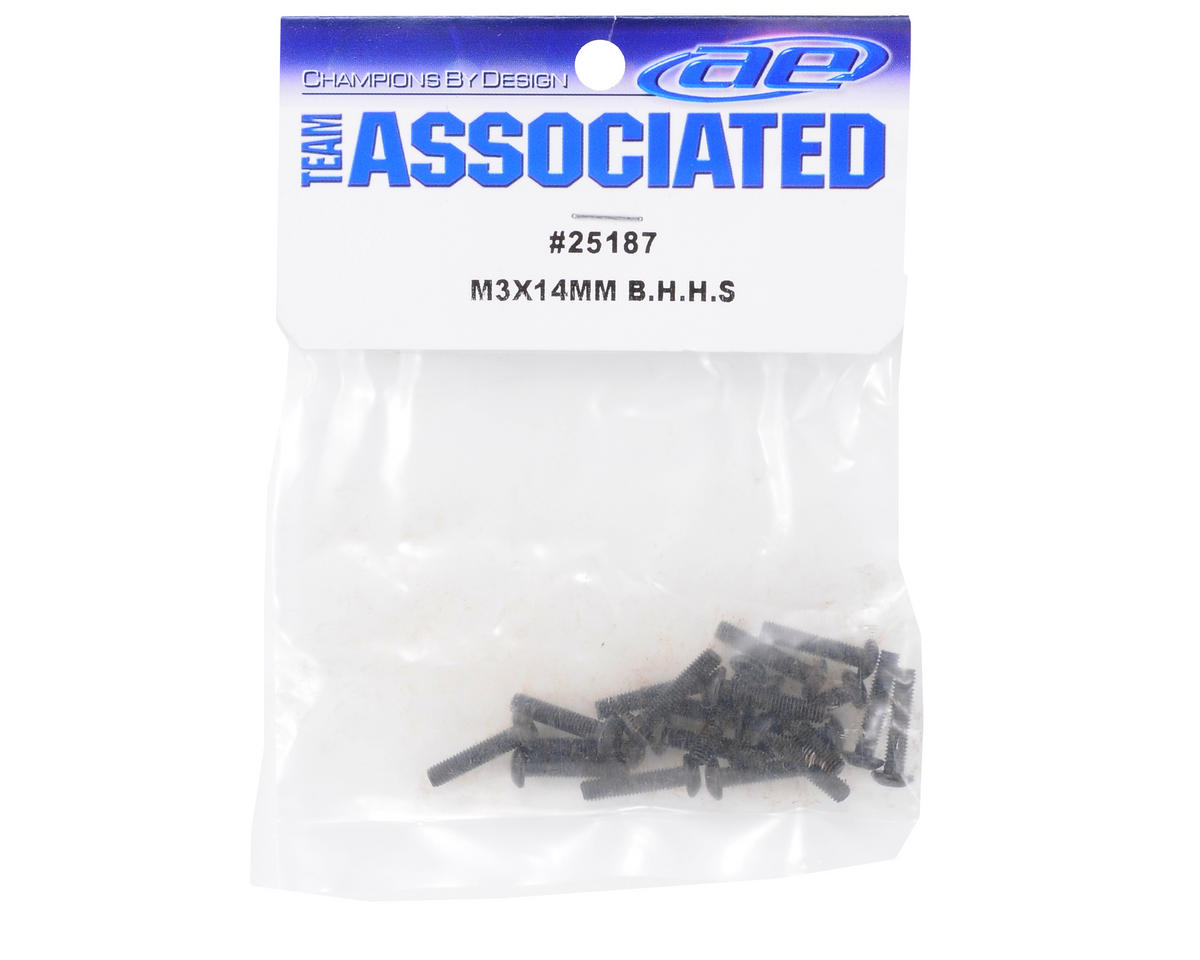 Team Associated 3x14mm Button Head Hex Screw (20)