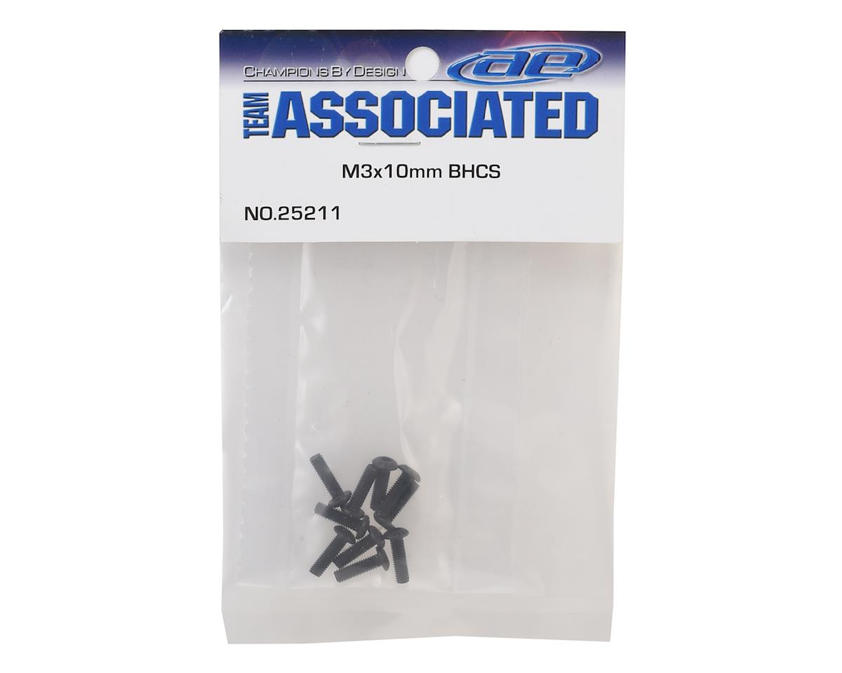 3x10mm Button Head Hex Screw (10) by Team Associated