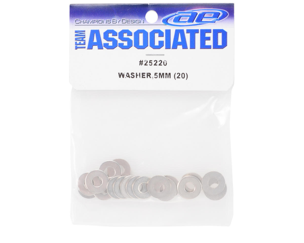 Team Associated 5x12x1mm Washer (20)