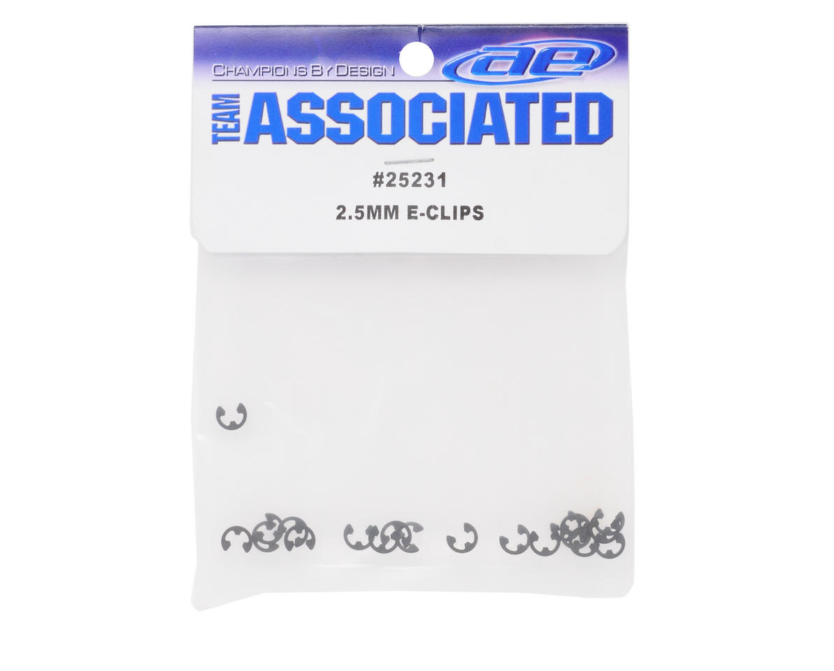 2.5mm E-Clip (20) by Team Associated