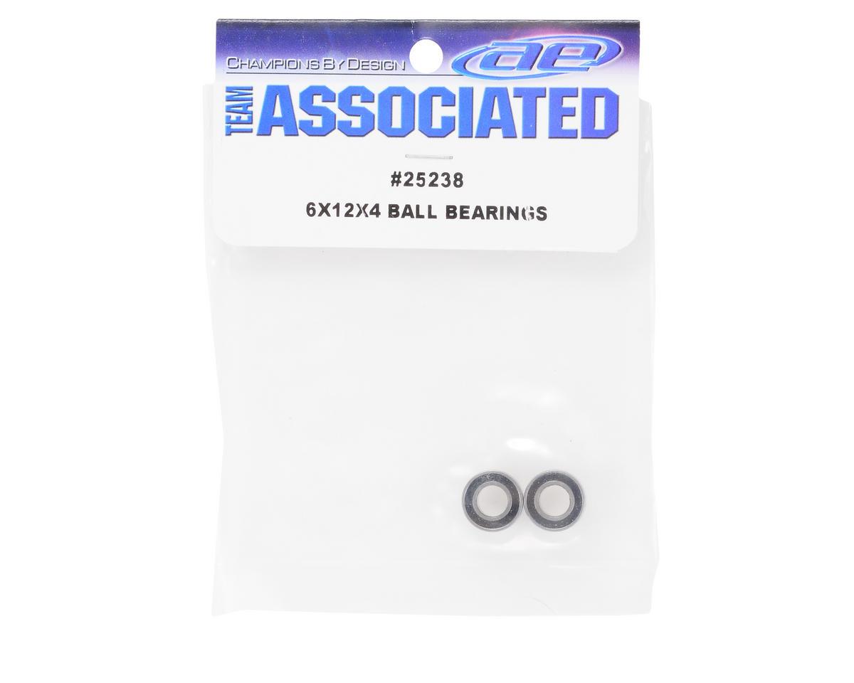 6x12x4mm Ball Bearing (2) by Team Associated