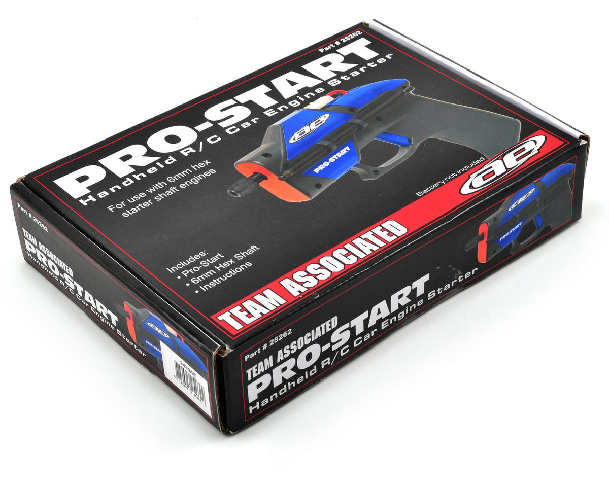 Team Associated Pro-Start Hand Held R/C Car Engine Starter