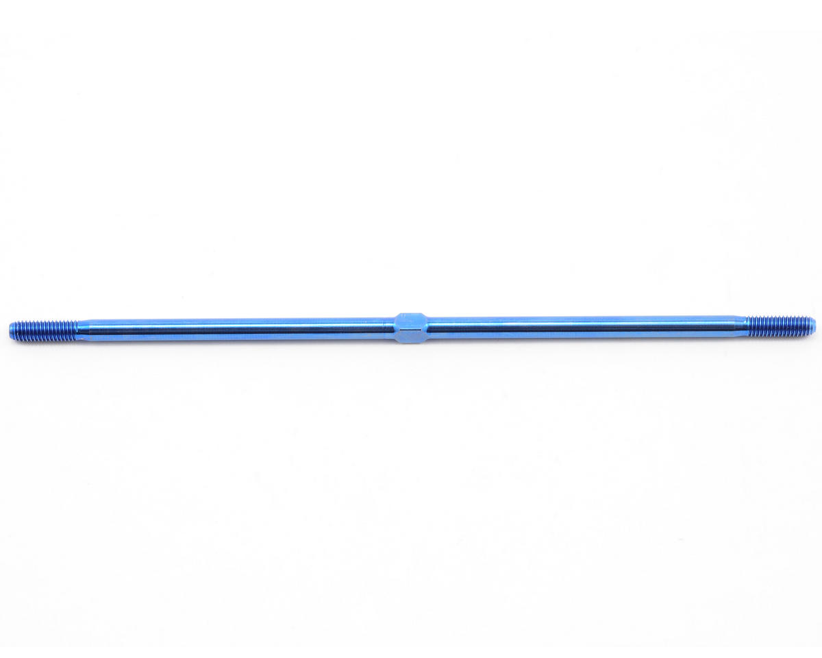 Team Associated Factory Team Rear Titanium Turnbuckle (Blue) (MGT)