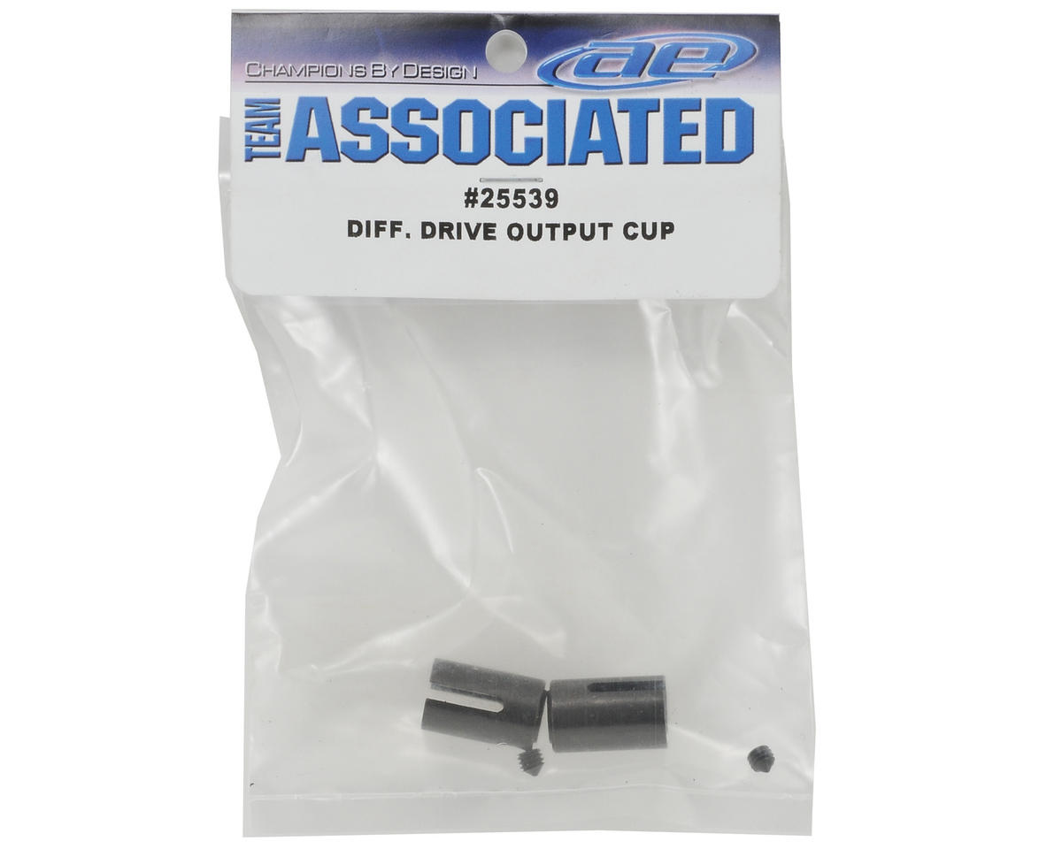 Team Associated Differential Output Drive Cup Set (2)