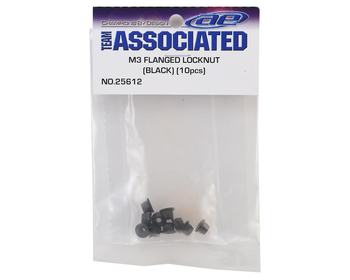 Team Associated M3 Flanged Locknut (10)