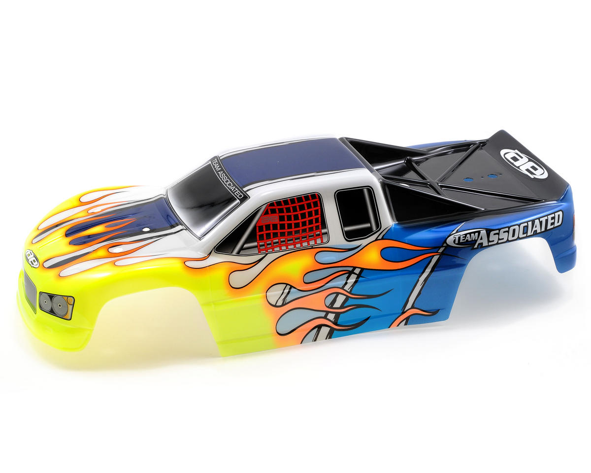 Team Associated MGT8.0 Pre-Painted Body (Blue)