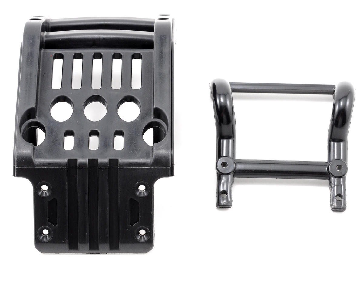 Team Associated Front Bumper & Brace Set (MGT 8.0)