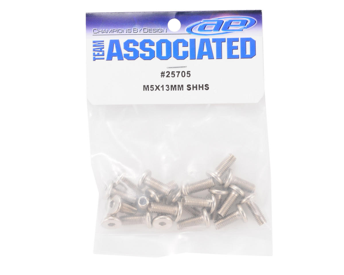 Team Associated 5x13mm Flat Head Screw (20) (MGT 8.0)