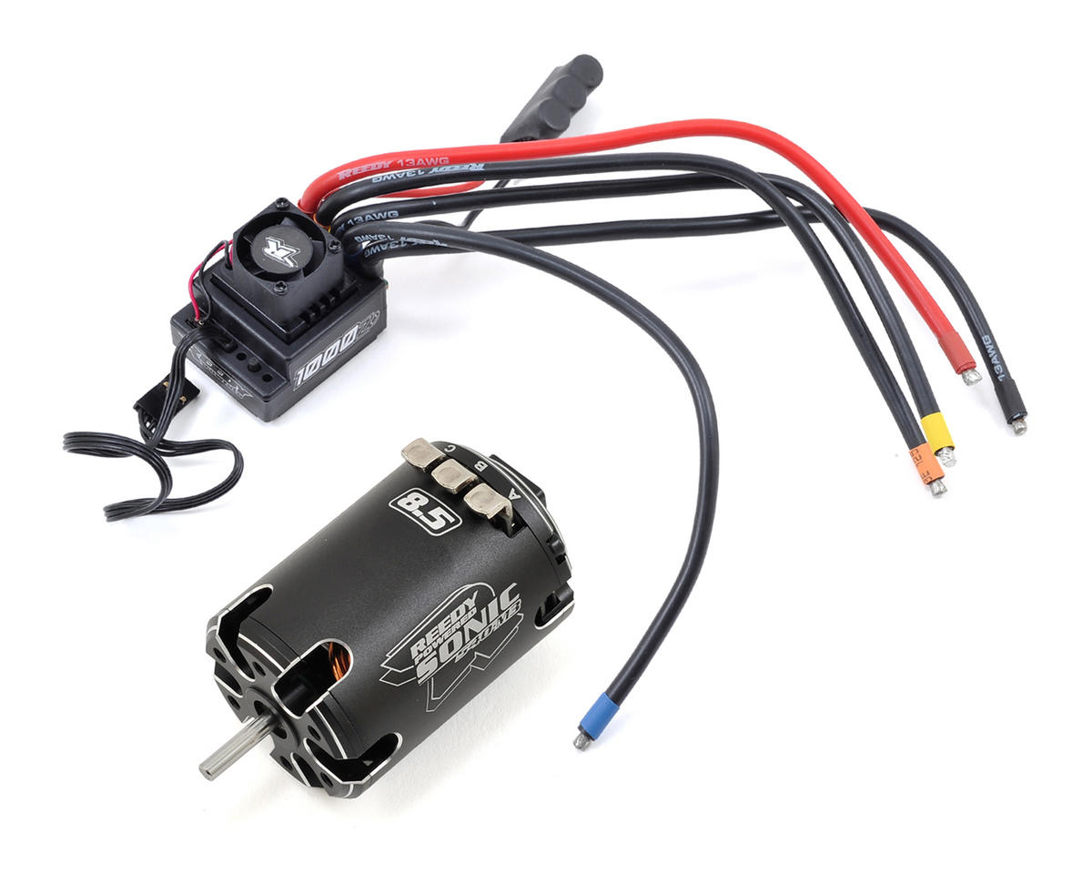 Blackbox 1000Z+ ESC / Sonic 540-M3 Combo (8.5T) by Reedy