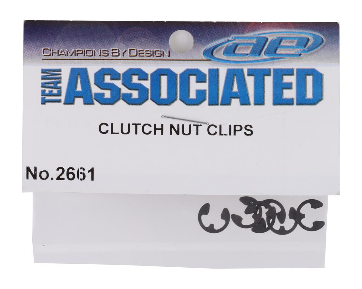 Team Associated Clutch Nut Clips GT