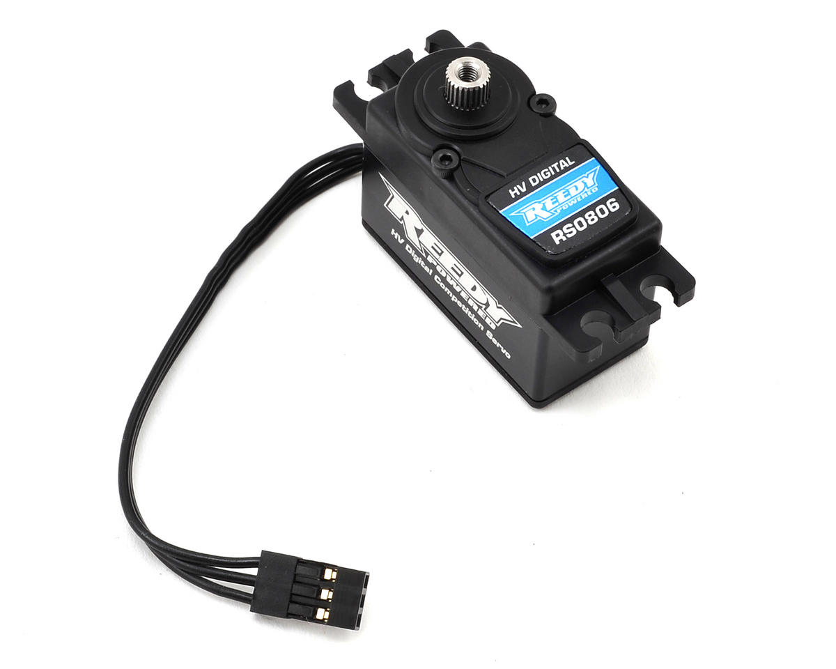 RS0806 Low Profile Digital Hi-Speed Servo (High Voltage)