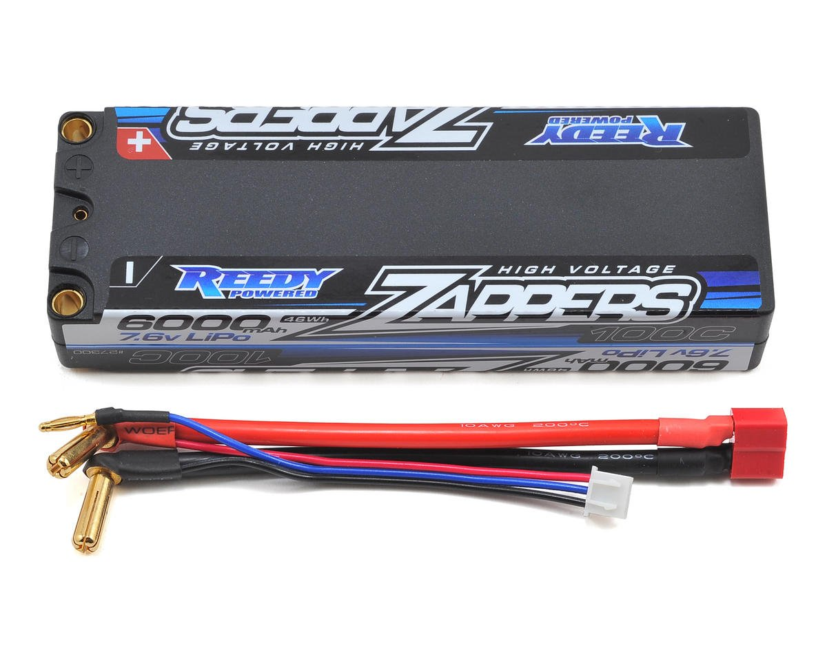 Reedy Zappers HV 2S Hard Case Li-Po 100C Competition Battery Pack (7.6V/6000mAh)
