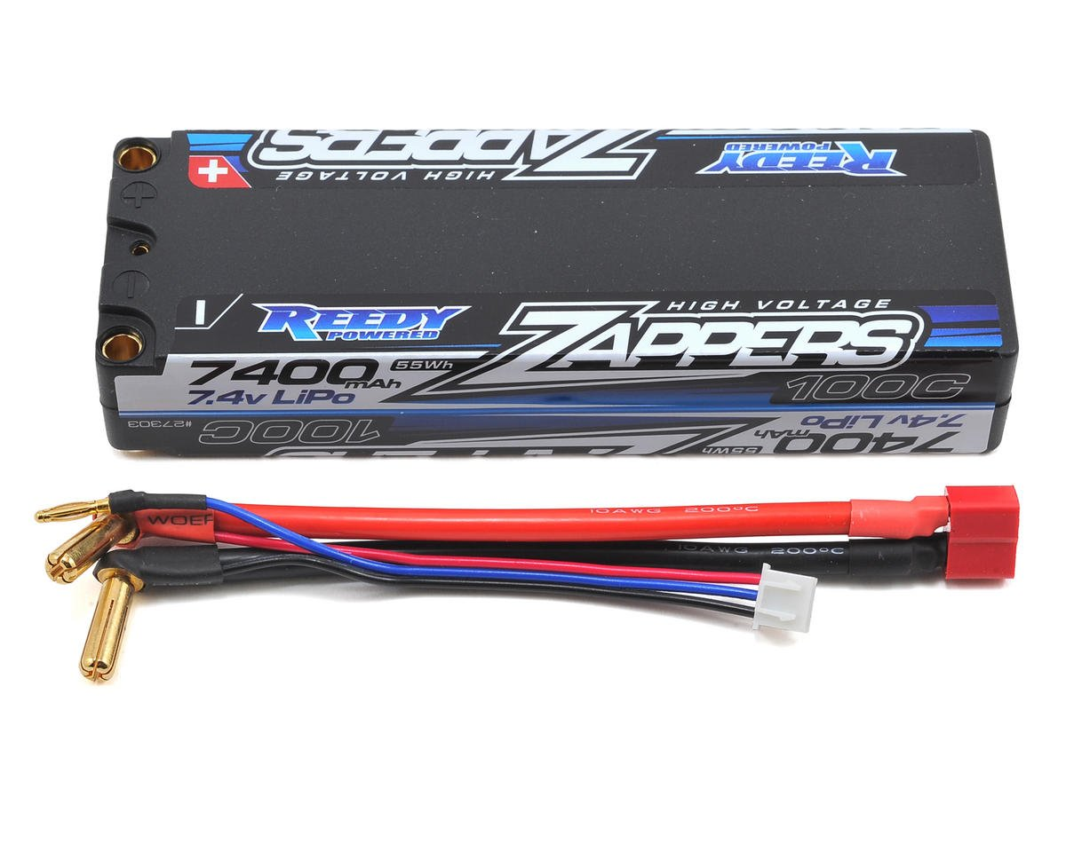Reedy Zappers 2S Hard Case Li-Po 100C Competition Battery Pack (7.4V/7400mAh)