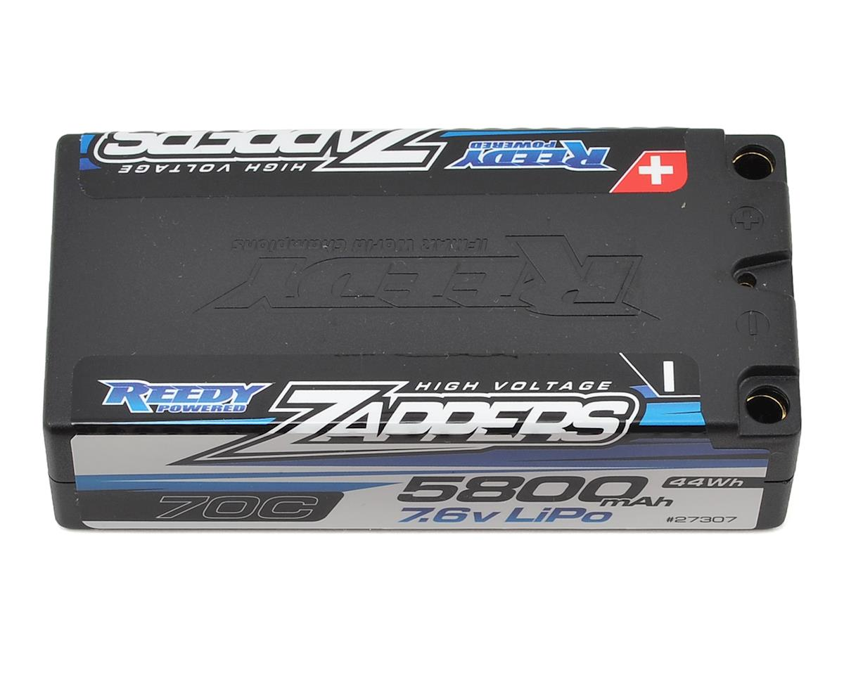 Zappers 2S Hard Case LiPo 70C Shorty Battery (7.6V/5800mAh) by Reedy