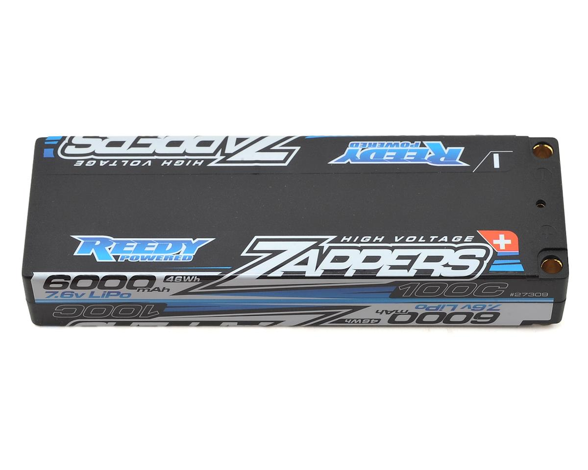 Reedy Zappers Low-Profile HV 2S Hard Case LiPo 100C Battery (7.6V/6000mAh)