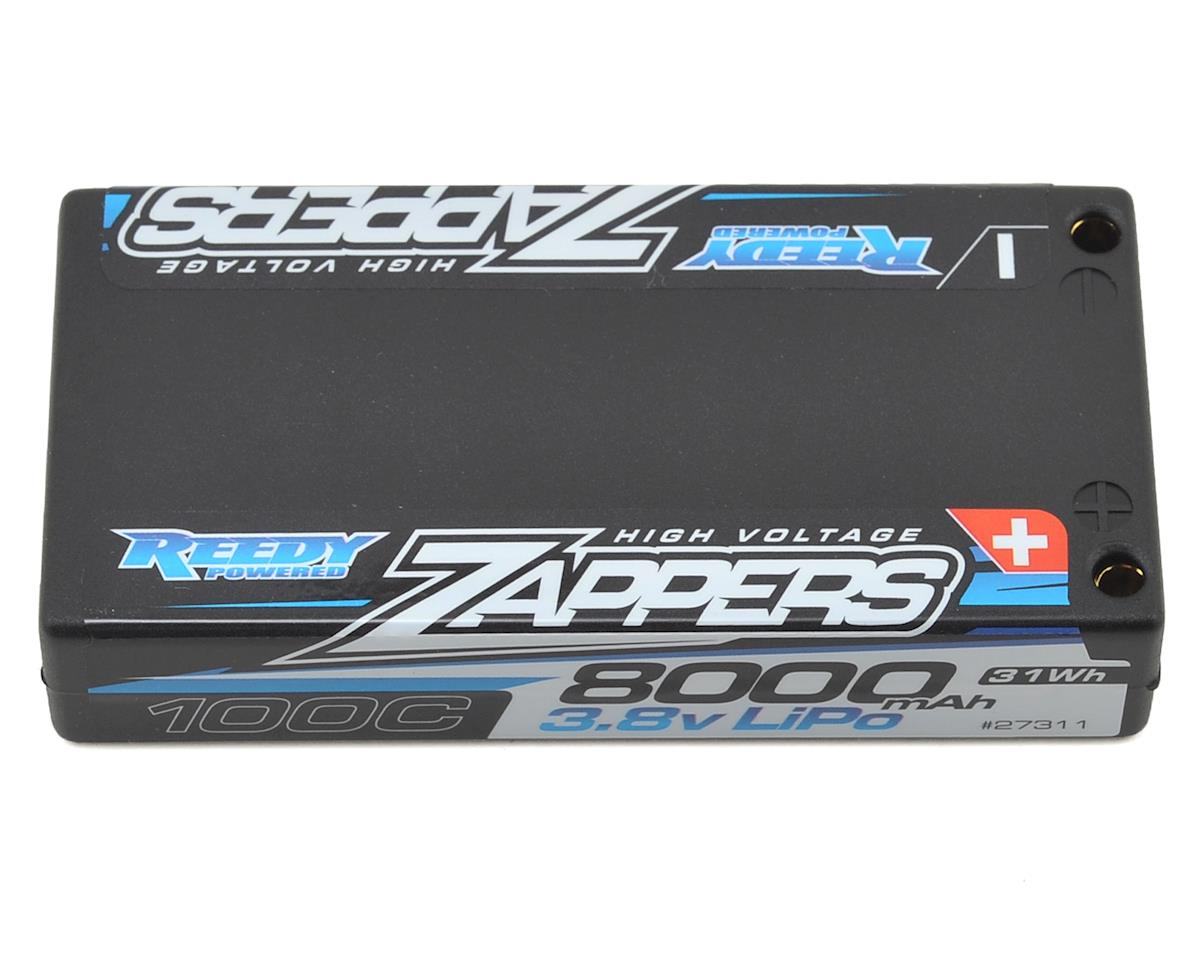 Reedy Zappers HV 1S Hard Case LiPo 100C Battery (3.8V/8000mAh) (Team Associated RC12 R5)