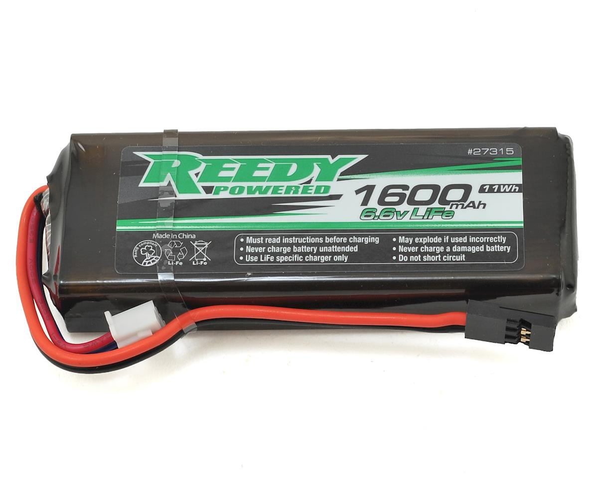 LiFe Flat Receiver Battery Pack (6.6V/1600mAh) by Reedy