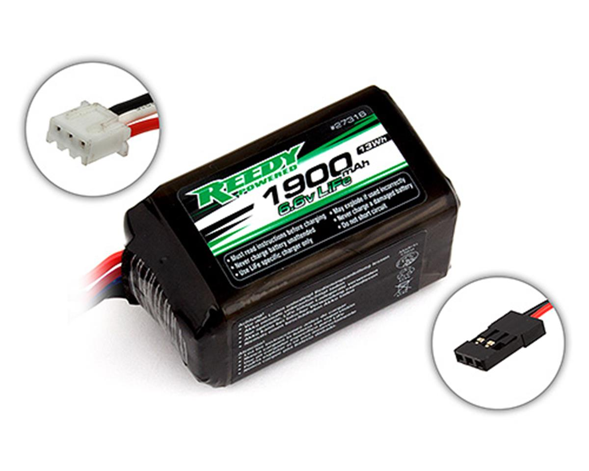 LiFe Hump Receiver Battery Pack (6.6V/1900mAh) by Reedy