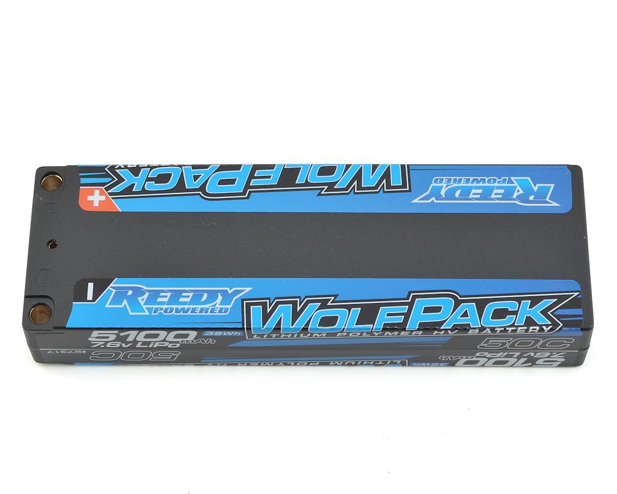 Reedy WolfPack HV 2S Hard Case LiPo 50C Battery Pack (7.6V/5100mAh)