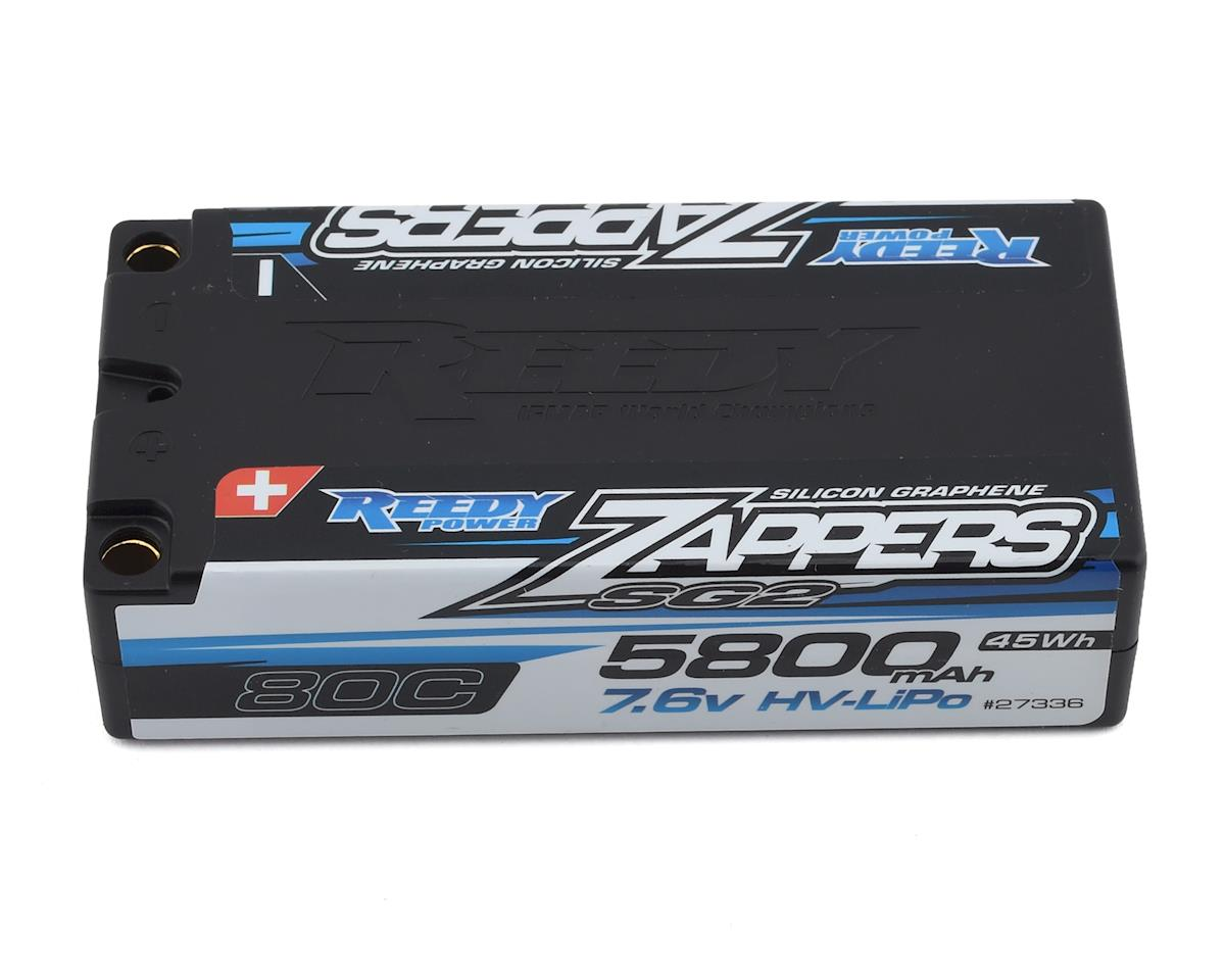 Reedy Zappers HV SG2 2S Shorty 80C LiPo Battery (7.6V/5800mAh)