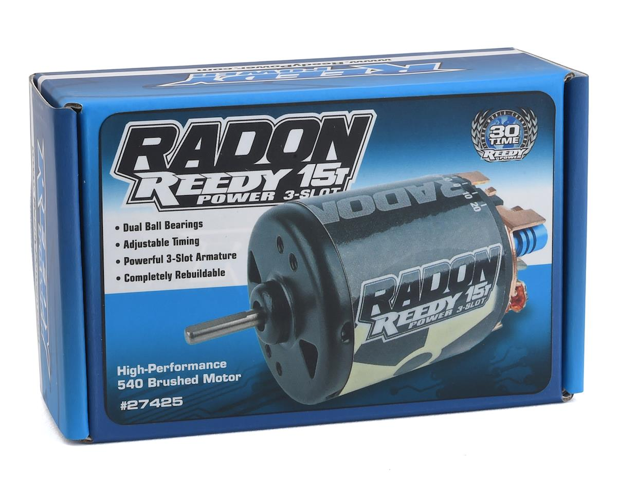 Reedy Radon 2 3-Slot Brushed Motor (15T)