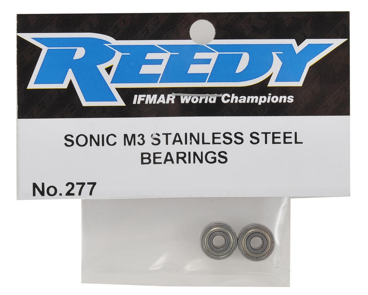 Reedy 540-M3 Stainless Steel Bearing Set (2)