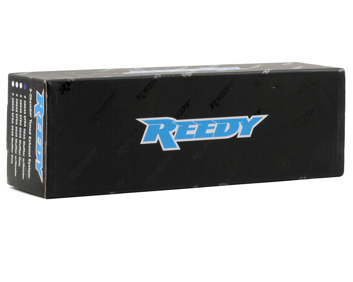 Reedy 2035 Tuned Exhaust System (Hard Anodized)
