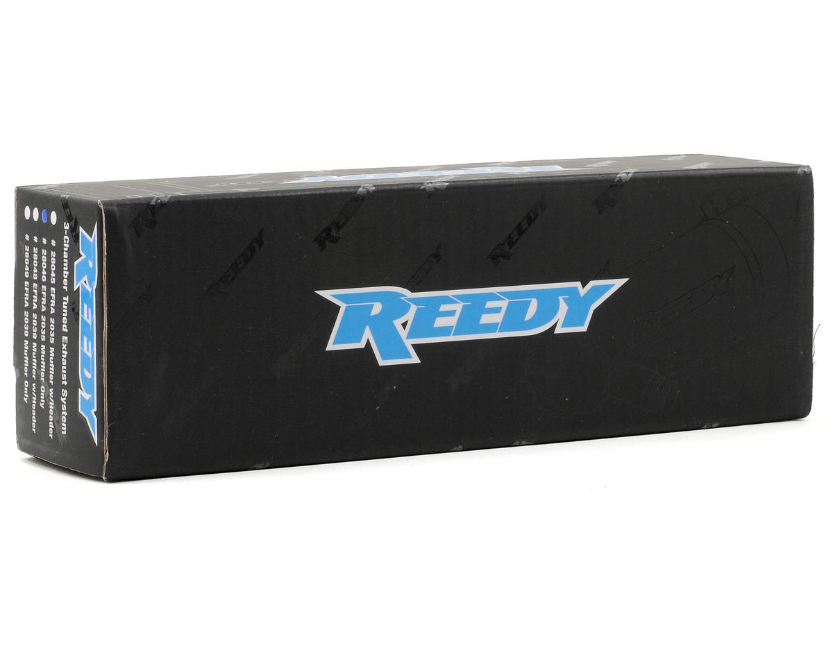 Reedy 2035 Tuned Muffler (Hard Anodized)