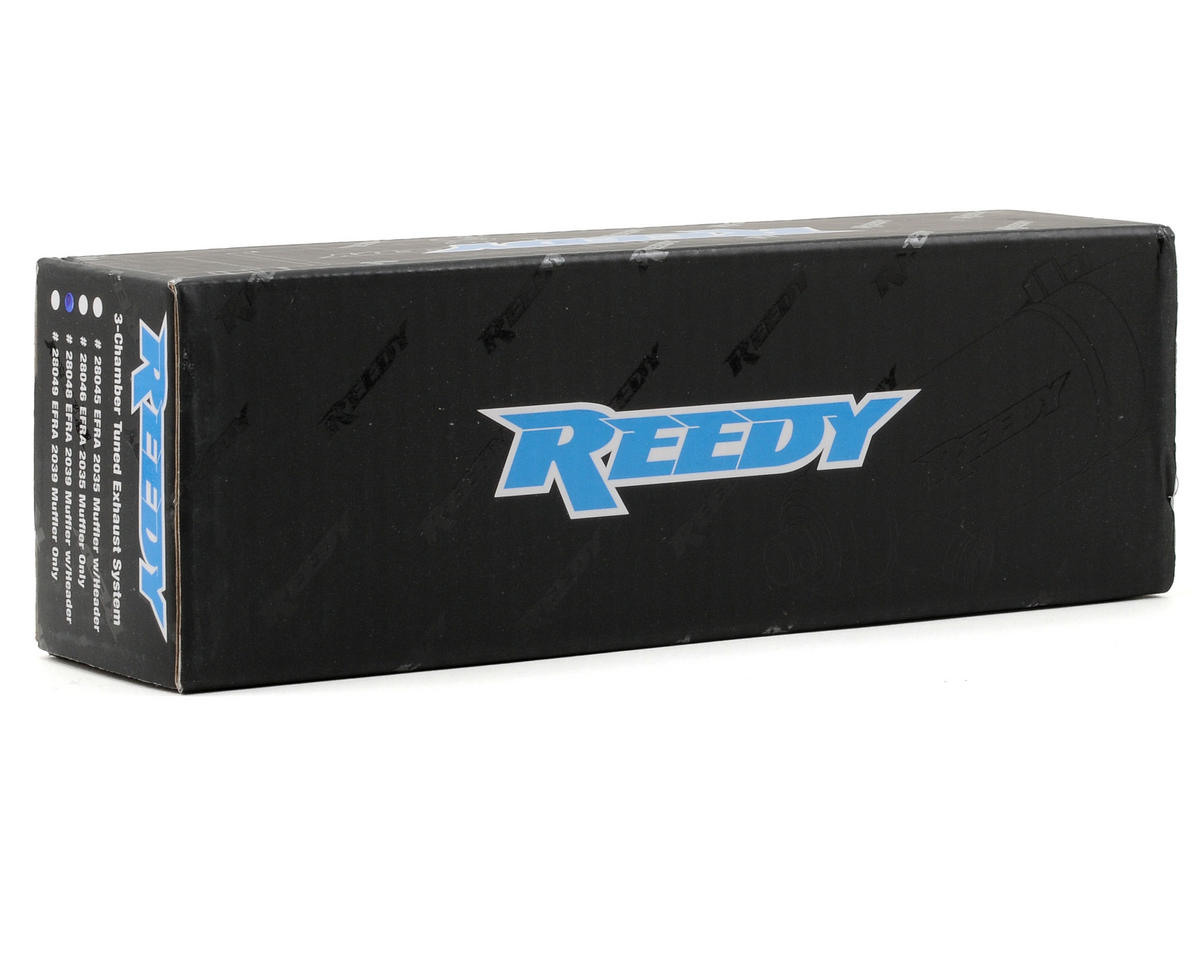 Reedy 2039 Tuned Exhaust System (Hard Anodized)