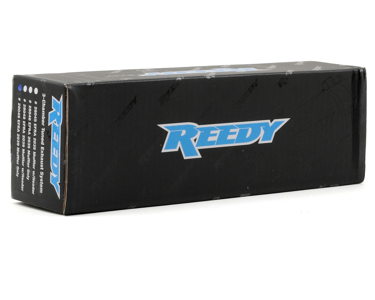 Reedy 2039 Tuned Muffler (Hard Anodized)